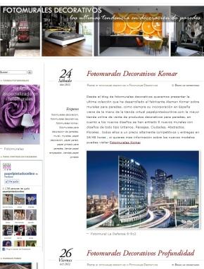 Fotomurales decoraciones interiores for Fotomurales decorativos